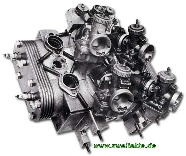 2-Takt, Motoren und Technik Yamaha Motoren